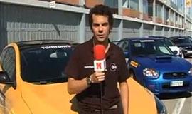 Video Enseñando a tomar curvas en el Jarama