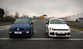 Video VW Golf R VS VW Scirocco R